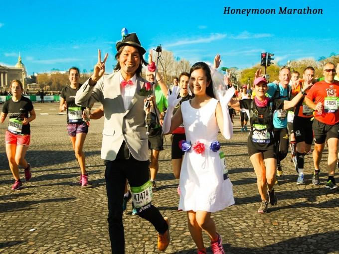 """世界中を走りまくった夫婦が新婚旅行に""""マラソン""""を勧める理由"""