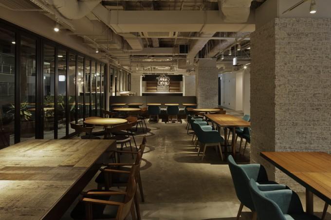music lounge restaurant night
