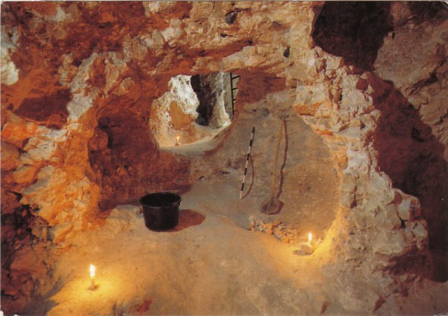スピエンヌの新石器時代の火打石の鉱山発掘地(モンス)
