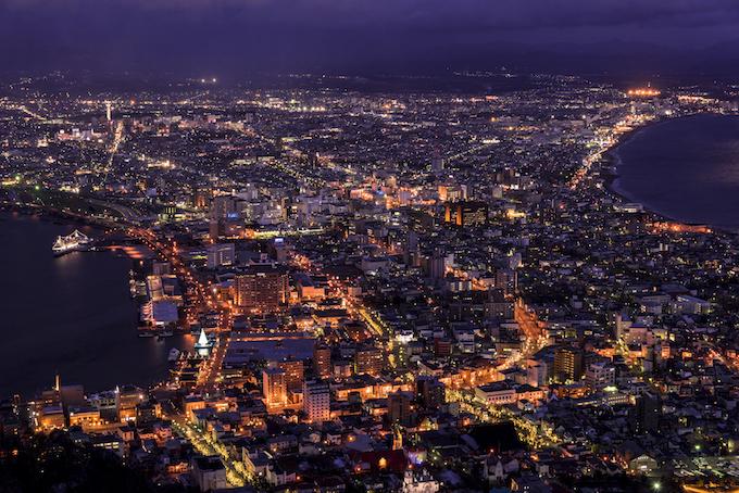 函館の夜景・絶景画像