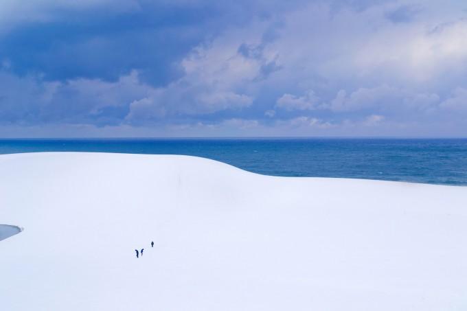 鳥取砂丘を観光するベストシーズンは冬?一面に広がる銀世界!