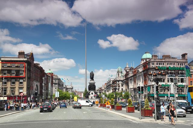 DUBLIN - JUNE 12: Spire of Dublin on June 12, 2010 in Dublin. Sp