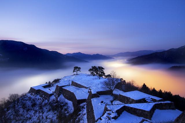 日本のマチュピチュと呼ばれる「天空の城」5選