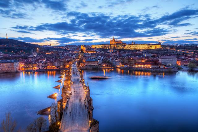 チェコの都市であり世界遺産プラハ
