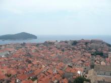 魔女の宅急便の街、クロアチアのドブロブニク