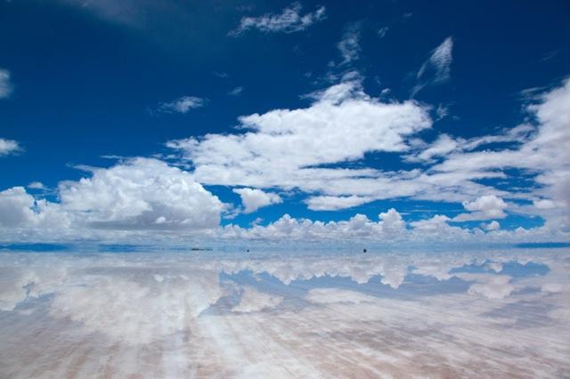 ウユニ塩湖の写真その1