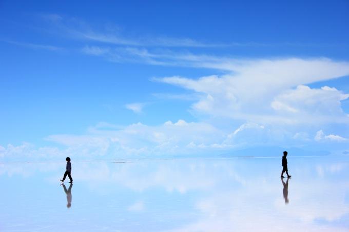ウユニ塩湖本格写真集