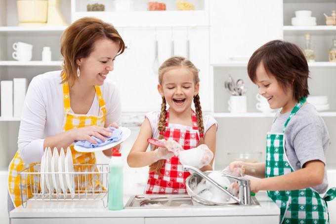 家事などお手伝いも積極的にしましょう