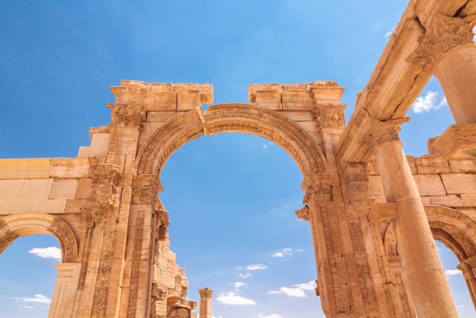 ISに破壊されたパルミラ遺跡が蘇る…!凱旋門が3Dプリンターによって復元されました