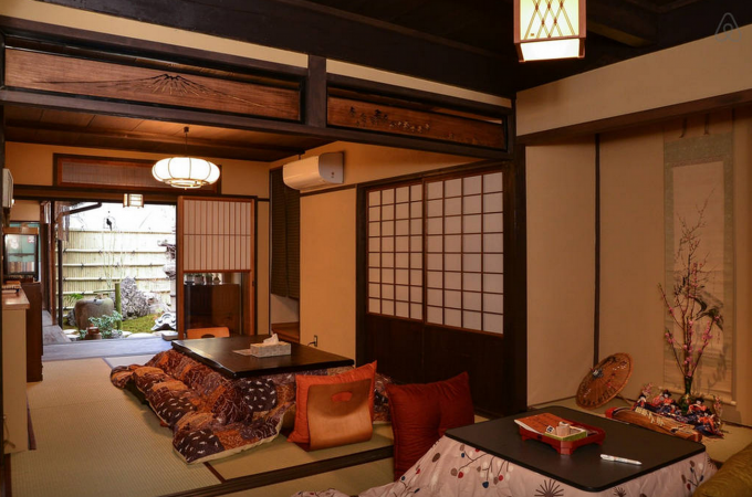 JP Traditional House Twin Room B
