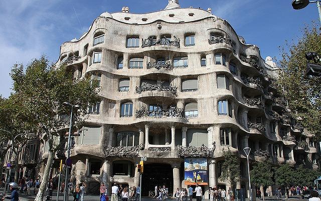 バルセロナの街並み-1