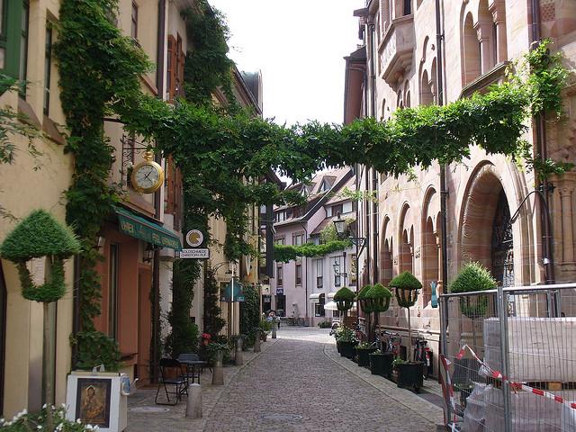 フライブルグの街並み