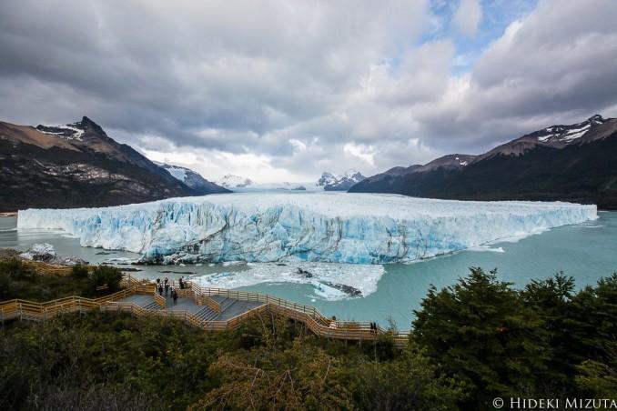 パタゴニアのペリト・モレノ氷河