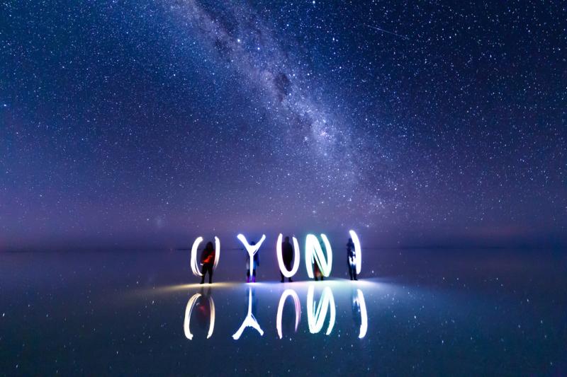 ウユニ塩湖の星空03