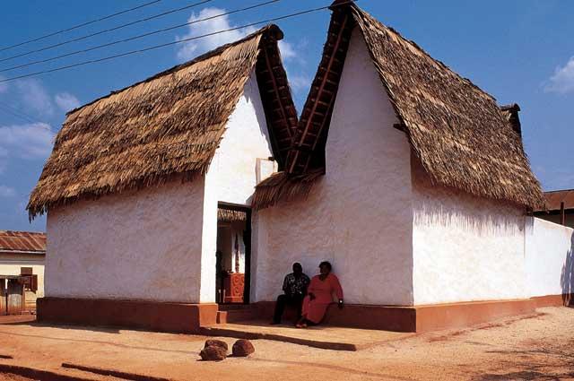 アシャンティの伝統的建築物群 ガーナ 世界遺産
