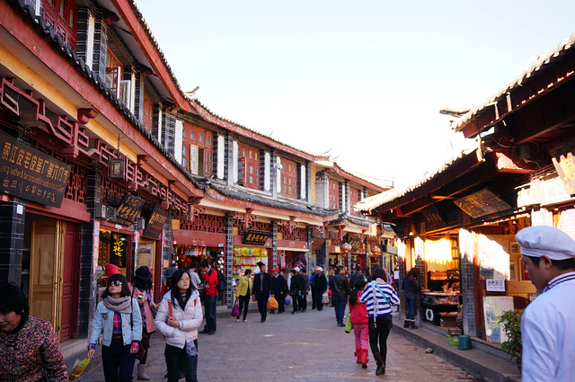 麗江旧市街