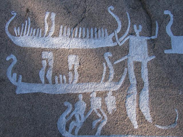 タヌムの線刻画群
