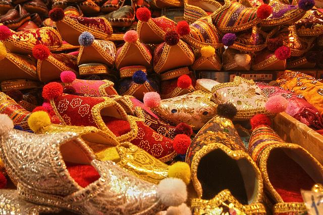 トルコの靴