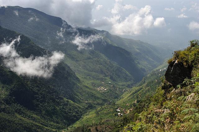 スリランカの中央高地