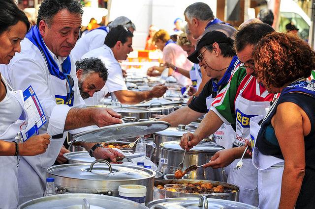 バスク地方ならではの食事の仕方