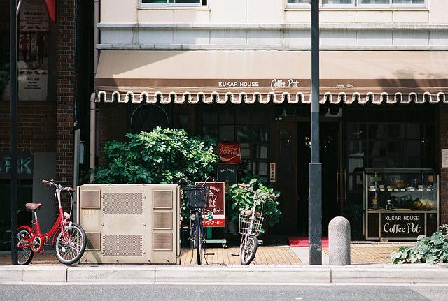日本のカフェ