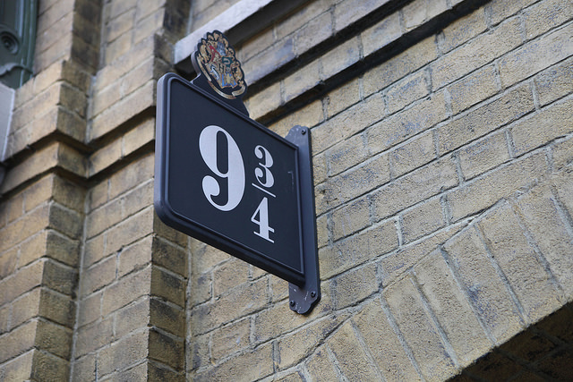 九と四分の三番線(ハリーポッター)