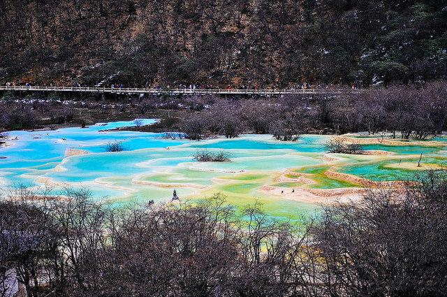 黄龍の景観と歴史地域
