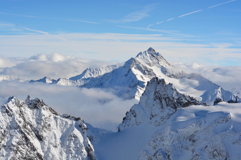 スイスのティトリス山