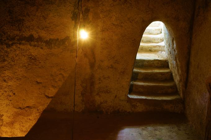 クチの地下道