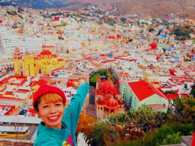 メキシコ、グアナファトの景色