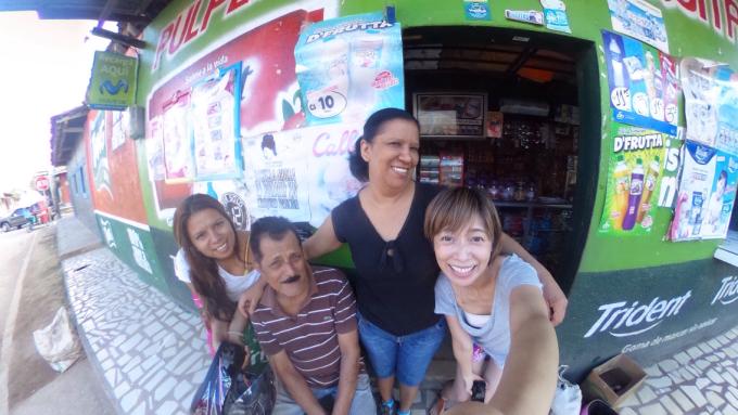 01ニカラグアの家族。ホストファミリー。一番お世話になりました