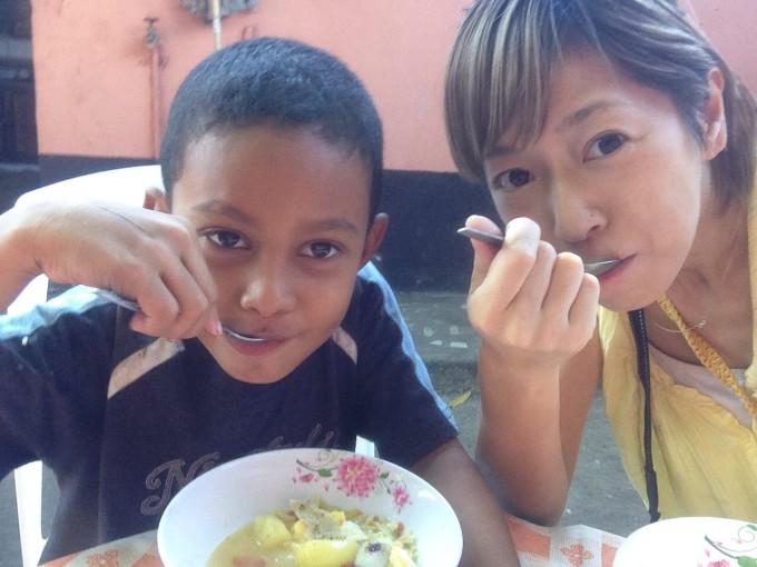 04ニカラグアでの小さな大親友