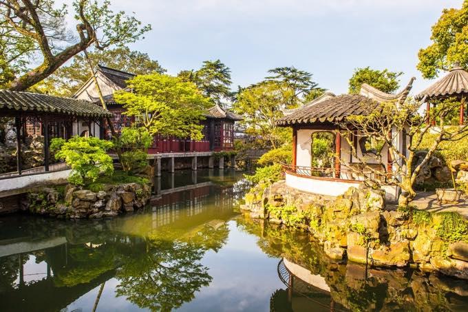 蘇州古典庭園(蘇州)