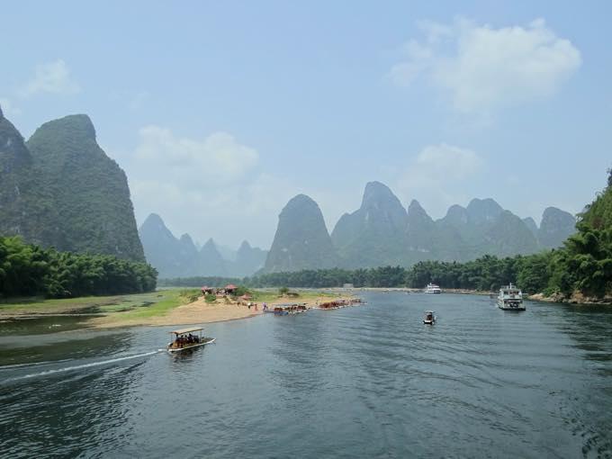 漓江下り(桂林)