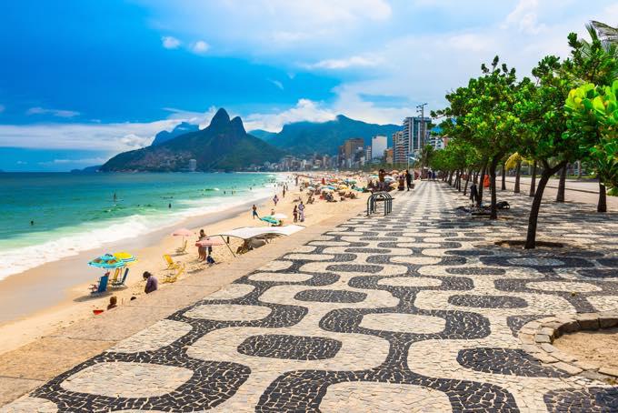 ブラジルの気候・服装・旅行シーズン