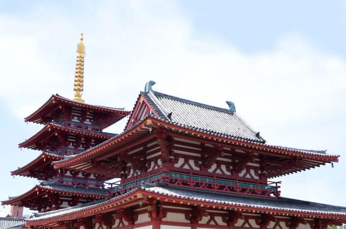 大阪にある四天王寺