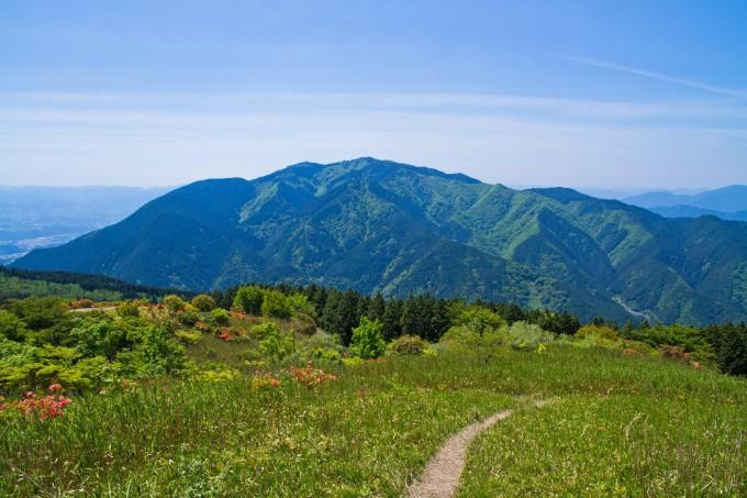 大阪の金剛山