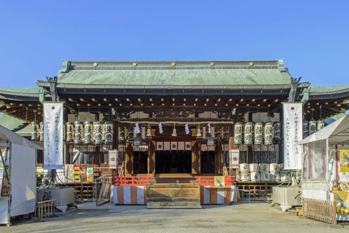 日本三大祭りの大阪天満宮