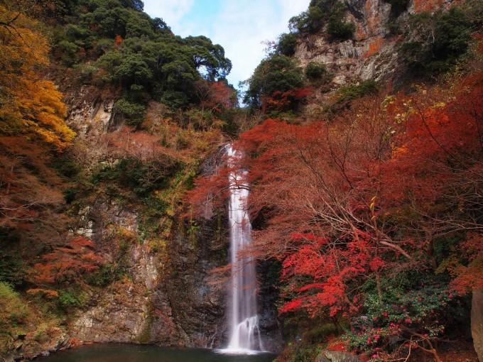 日本の滝百選・箕面滝