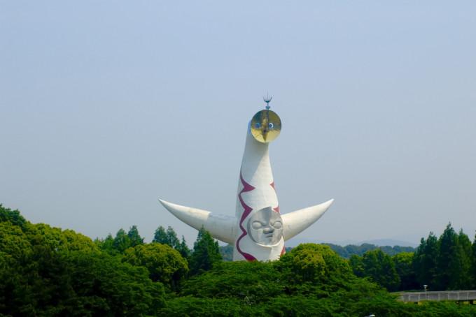 大阪にある万博記念碑