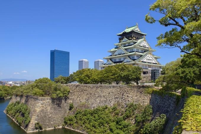 大阪のシンボル・大阪城