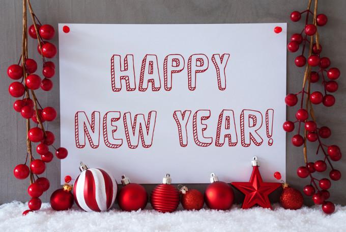 新年 挨拶 メール 英語