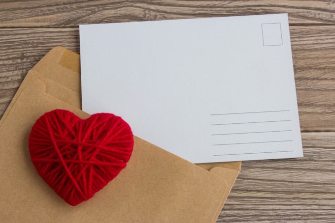 愛のこもった手紙