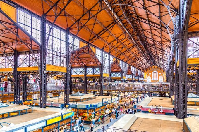 中央市場(ブダペスト)