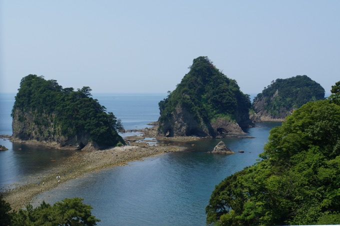 三四郎島のトンボロ