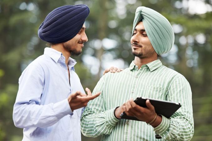 インド英語はthをタ行で発音する