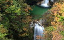 山梨県にある尾白川渓谷の詳細と絶景写真まとめ