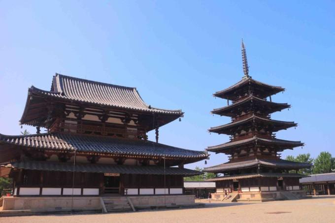 奈良県の法隆寺