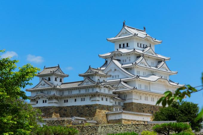 白すぎて美しい兵庫の姫路城