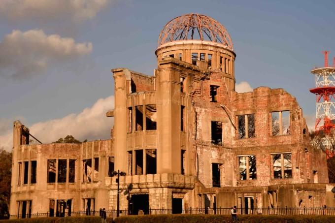 広島県にある原爆ドーム
